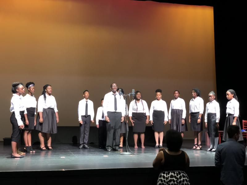AHCAC's Voices of Heritage Perform before Turning 15 On the Road to Freedom
