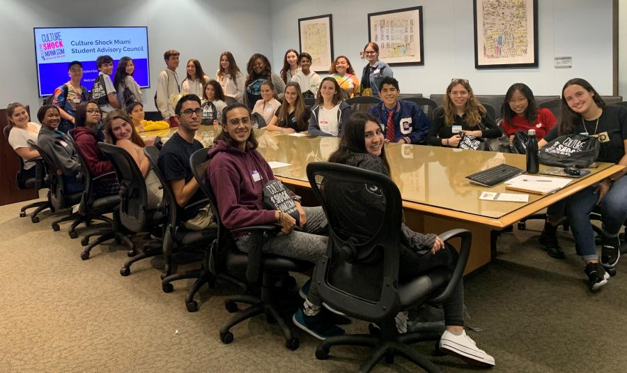 2019-2020 Student Advisory Council First Meeting